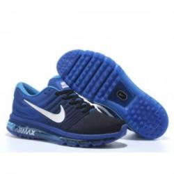 Nike Airmax 2017 Blue Black Shoes Online in India