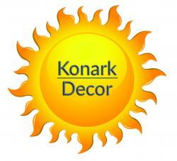 Konark Decor - Wallpapers Vertical grass Garden panels