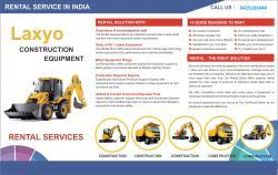 Construction Equipment Rental Company - Laxyo
