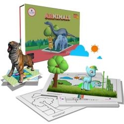 SCIFIKIDS - ARNIMALS New Version Augmented Reality Educational Kit-(iOS & Android)