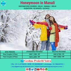 Honeymoon in Manali