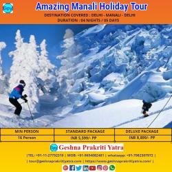 Amazing Manali Holiday Tour