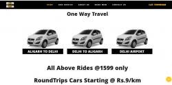 Delhi to Aligarh Cabs
