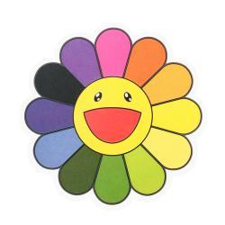 Clear Vinyl Stickers   Takashi Murakami Flower Stickers   Customsticker.com ™