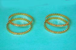 gargi jeweles Gold Plated Bangles Set For Women and Girls