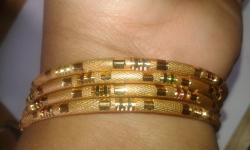 gargi jwelles stylish Gold Plated Bangles Set For Women and Girls